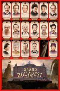 "Locandina di ""Grand Budapest Hotel"""