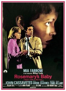 "Locandina di ""Rosemary's Baby - Nastro rosso a New York"""