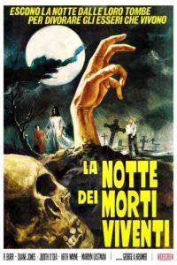 """Locandina di """"La notte dei morti viventi"""""""